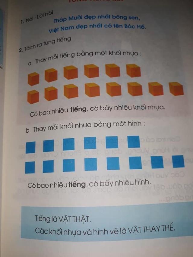 Phụ huynh hoang mang khi sách lớp 1 dạy trẻ đọc bằng ô vuông, hình tròn: Tìm hiểu kỹ trước khi tranh luận, đừng để sự vô minh làm ảnh hưởng đến con trẻ - Ảnh 4.
