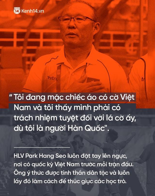 Những câu nói truyền cảm hứng của HLV Park Hang Seo cho bóng đá Việt Nam - Ảnh 5.