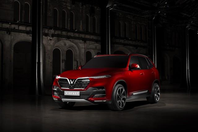 VinFast công bố những hình ảnh thiết kế ngoại thất đầu tiên của 2 mẫu xe Sedan và SUV - Ảnh 3.