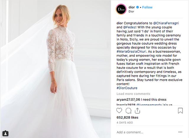 Vogue khẳng định: Đám cưới của Chiara Ferragni hot hơn cả đám cưới cổ tích của hoàng tử Harry và Meghan Markle! - Ảnh 6.