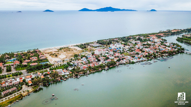 Cận cảnh một số dự án đang biến vùng đất chết Nam Hội An thành thiên một số con phố nghỉ dưỡng mới nổi - Ảnh 16.