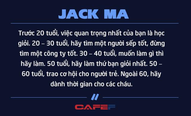 Jack Ma nghỉ hưu ở tuổi 54 vì không muốn chết ở văn phòng: Chúng ta không được sinh ra để dành tất cả thời gian cho công việc mà để tận hưởng cuộc sống và khiến những người khác tốt lên - Ảnh 5.