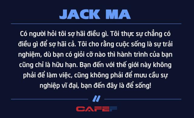 Jack Ma nghỉ hưu ở tuổi 54 vì không muốn chết ở văn phòng: Chúng ta không được sinh ra để dành tất cả thời gian cho công việc mà để tận hưởng cuộc sống và khiến những người khác tốt lên - Ảnh 8.