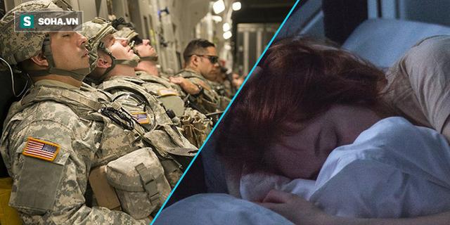 Bí quyết ngủ ngon lành trong 2 phút của lính Mỹ: 96% người thành công sau 6 tuần áp dụng - Ảnh 1.