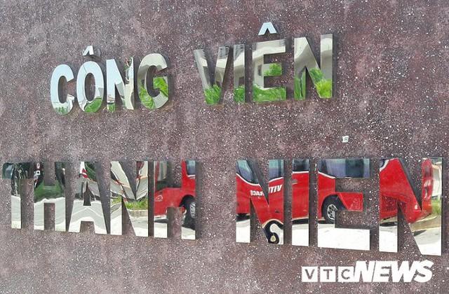 Ảnh: Công viên 50 tỷ đồng nhếch nhác giữa trung tâm Đà Nẵng - Ảnh 1.