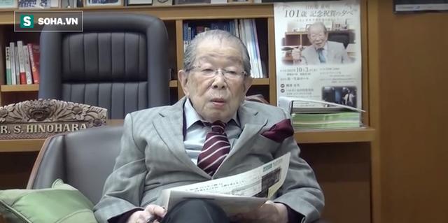 Huyền thoại y học Nhật Bản sống thọ 105 tuổi: Chỉ vọn vẻn trong 5 điều rất dễ làm - Ảnh 1.