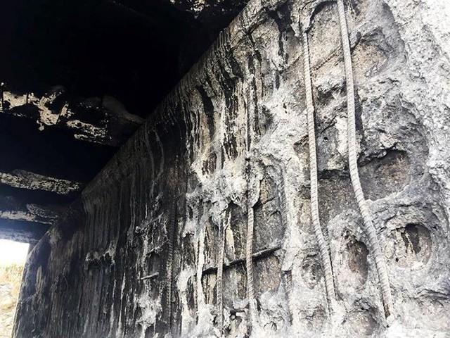 Cầu trơ lõi thép sau vụ cháy xe bồn trên cao tốc Nội Bài - Lào Cai  - Ảnh 9.