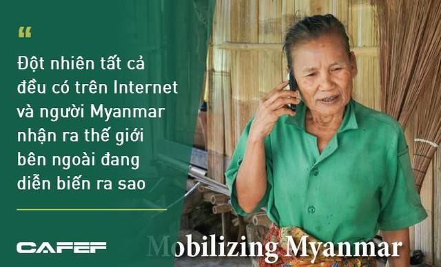 Cách mạng 4.0 xoay quanh những chiếc smartphone ở Myanmar - Ảnh 1.