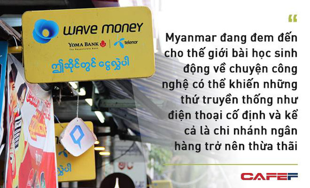 Cách mạng 4.0 xoay quanh những chiếc smartphone ở Myanmar - Ảnh 3.