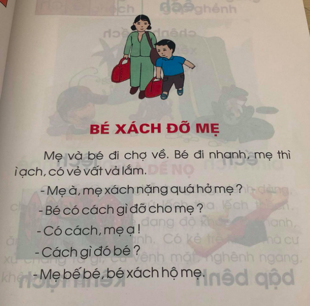 Chuyên gia pháp lý người Nhật nói về bài đọc Bé xách đỡ mẹ gây tranh cãi: Đừng bắt trẻ thơ nhìn vạn vật bằng con mắt của người lớn - Ảnh 1.