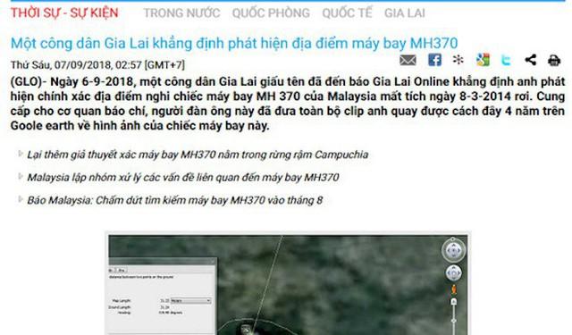 Người tự nhận biết nơi máy bay MH370 rơi là kỹ sư trắc địa 10 năm làm ở Gia Lai - Ảnh 1.
