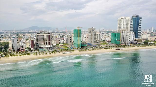 Condotel phát triển mạnh ở các thành phố ven biển. Bãi biển Mỹ Khê - Đà Nẵng