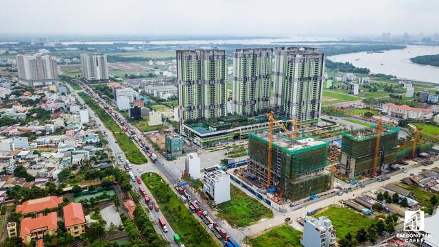 Cận cảnh cây cầu qua đảo Kim Cương đang khiến bất động sản quận 2 tăng giá - Ảnh 2.