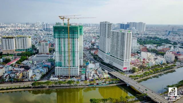 Dự án Millenium của Phát Đạt và An Dương Thảo Điền đang đẩy nhanh tiến độ thị công.