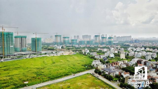 Nguồn cung căn hộ cao cấp đang nở rộ tại khu Đông.