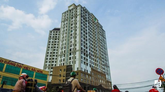 Một trong những dự án cao cấp tọa lạc tại đầu đường Hồng Hà - khu căn hộ GardenGate Residence đang trong giai đoạn bàn giao cho khách hàng.