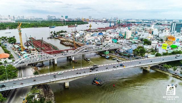 Những hình ảnh mới nhất của dự án chống ngập do triều 10.000 tỷ đồng ở TP.HCM - Ảnh 7.