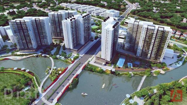 Mizuki Park của Nam Long - một trong những dự án bất động sản lớn thu hút dòng vốn từ nhà đầu tư Nhật trong năm 2017.