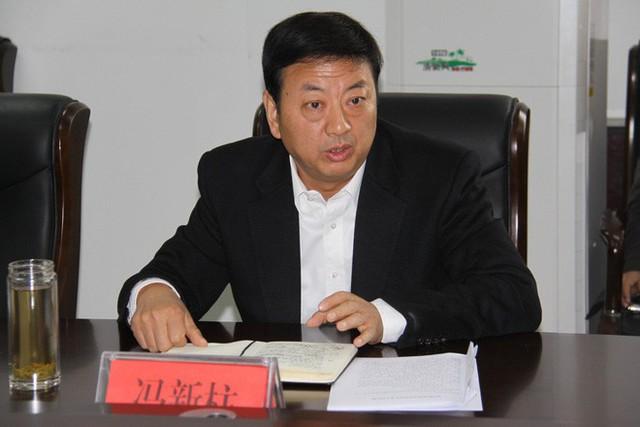 Ông Phùng Tân Trụ - hổ lớn tại Trung Quốc vừa bị bắt sáng nay. Ảnh: CCDI
