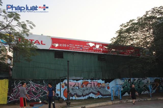 1.000 m2 đất là diện tích xây dựng tổ hợp công trình công cộng đã được (UDIC) bàn giao cho UBND phường Bưởi quản lý.
