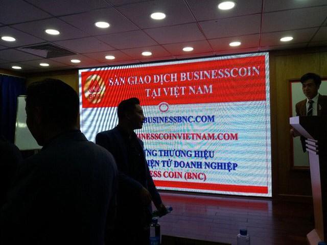 Buổi giới thiệu về sàn giao dịch Businesscoin