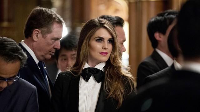 Giám đốc truyền thông của Nhà Trắng - Hope Charlotte Hicks.