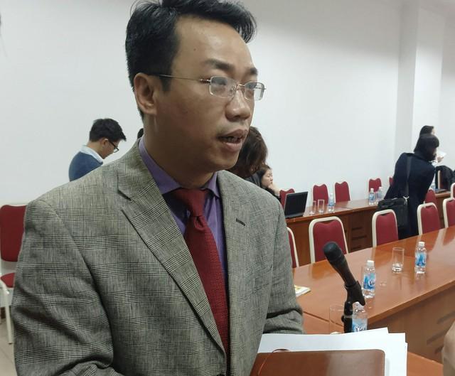 Ông Phạm Tuấn Anh - Phó vụ trưởng Vụ Hợp tác quốc tế (Bộ Tài chính)