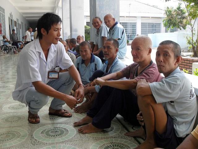 Bệnh nhân ở BV Tâm thần Trung ương 1