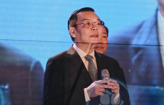 Bộ trưởng Chu Ngọc Anh phát biểu.