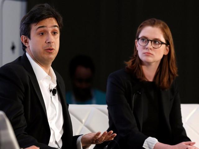 2. Tezos (Mỹ)- công ty cung cấp công nghệ blockchain mới đáng tin cậy hơn cho Bitcoin hoặc Ethereum - 232 triệu USD - Ảnh: Đồng sáng lập kiêm giám đốc tài chính Arthur Breitman của Tezos và vợ Kathleen Breitman/Reuters.