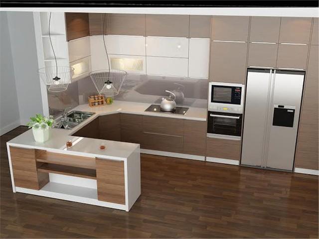 Tủ bếp nhựa là xu hướng ngày càng được ưa chuộng bởi độ bền cao, tính thẩm mỹ cũng như giá thành thi công rẻ.