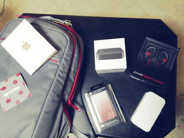 Lucky Bag của Apple năm 2015