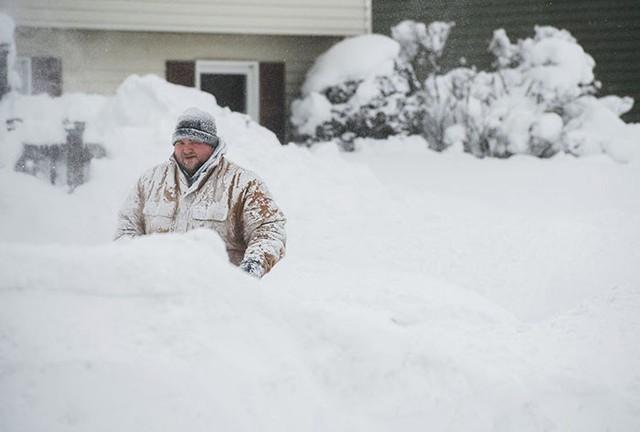 Nước Mỹ hiện đã lạnh hơn Sao Hỏa do ảnh hưởng của bão bom tuyết đổ vào bờ Đông.