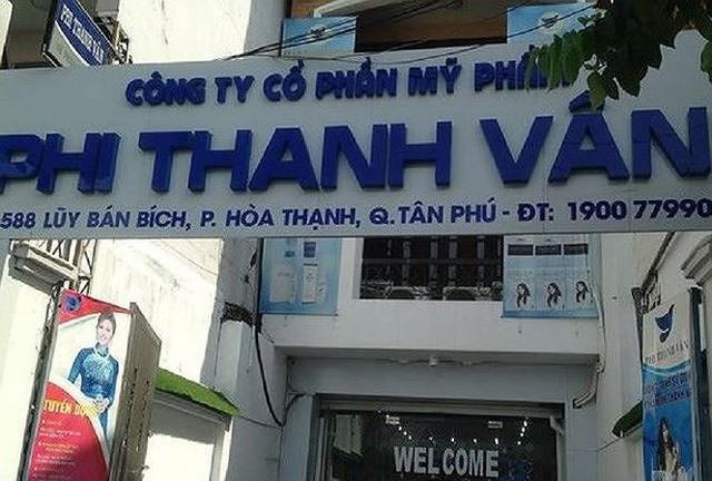 Trụ sở chính của công ty trên đường Lũy Bán Bích, Q. Tân Phú