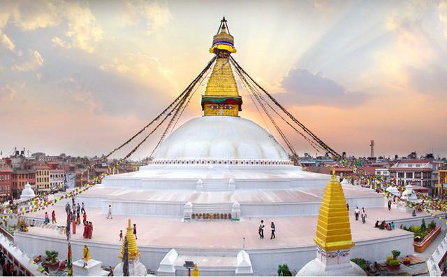 Đại bảo tháp Boudhanath và những điều huyền diệu - Ảnh 2.
