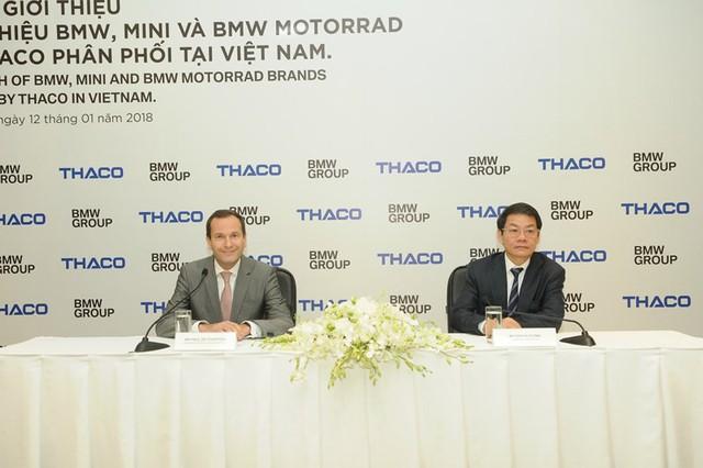 Hãng xe sang BMW bắt tay đại gia ô tô Việt Nam - Ảnh 1.