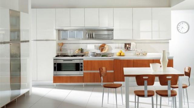 Những tủ bếp đơn giản nhưng khiến không gian bếp đẹp và sang đến không ngờ - Ảnh 2.