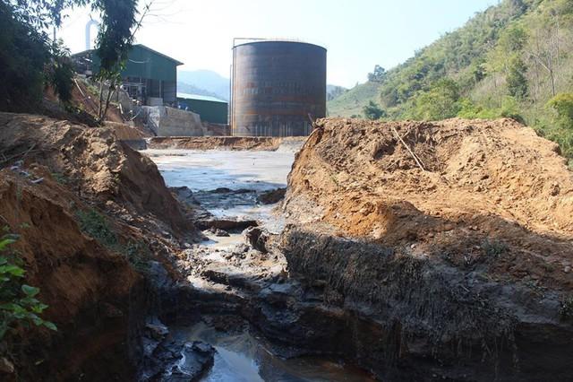 Cá chết hàng loạt do vỡ bể chứa nước thải nhà máy ở Điện Biên - Ảnh 2.