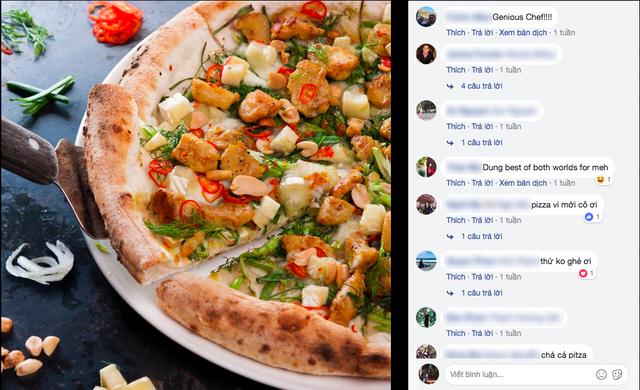 Món mới của 4Ps: Pizza chả cá - vừa mắm tôm vừa phô mai liệu có phải là chiếc pizza sai nhất từ trước tới nay? - Ảnh 1.