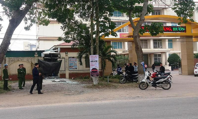 2 nghi can nổ mìn phá ATM đã bị bắt - Ảnh 2.