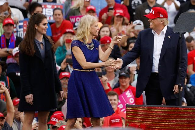 Không thể phủ nhận, Hope Hicks cùng bộ sậu của Tổng thống Trump đang đem lại luồng sinh khí mới cho Nhà Trắng.
