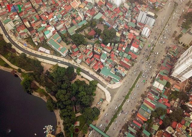Ảnh: Toàn cảnh con đường 600m hoàn thành trong 17 năm tại Hà Nội - Ảnh 12.