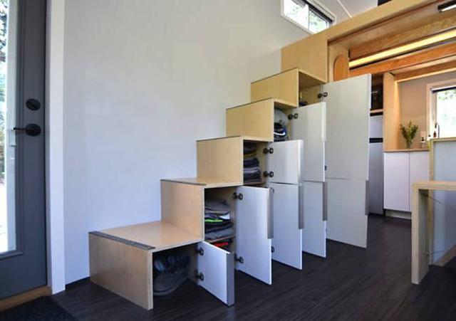 Cặp vợ chồng trẻ sống thoải mái và tiện nghi trong ngôi nhà 18m2 - Ảnh 14.