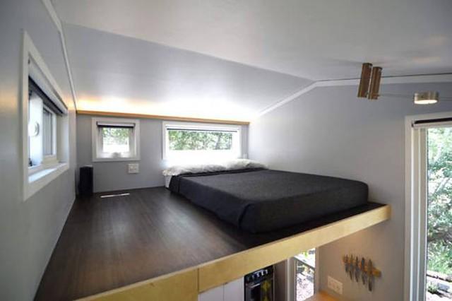 Cặp vợ chồng trẻ sống thoải mái và tiện nghi trong ngôi nhà 18m2 - Ảnh 15.