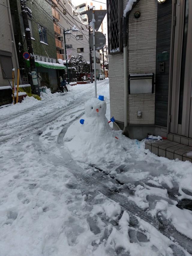 Những hình ảnh rùng mình trong bão tuyết kỷ lục tại Tokyo: Hàng trăm chuyến bay bị hủy, xe đạp đóng băng ngoài trời - Ảnh 16.