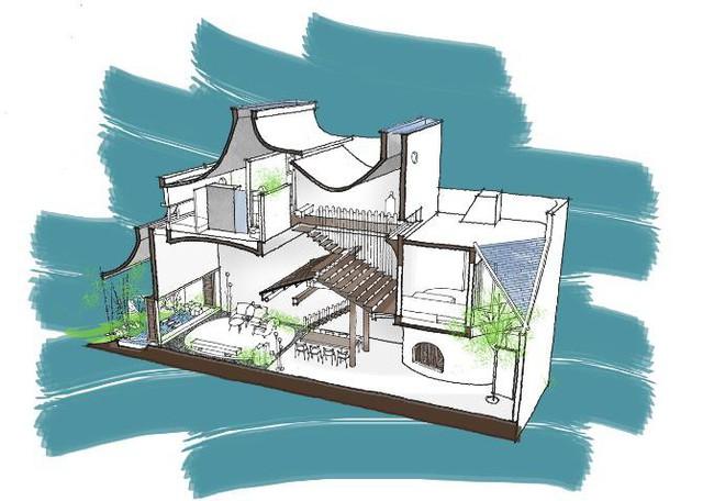 Ngắm vẻ đẹp hoài cổ của căn nhà 2 tầng ở Bình Dương xuất hiện trên báo ngoại - Ảnh 20.