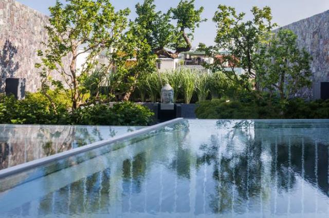 Nhà phố ở Nha Trang gây sốt với thiết kế xanh mướt nhờ những miệt vườn nhỏ - Ảnh 20.