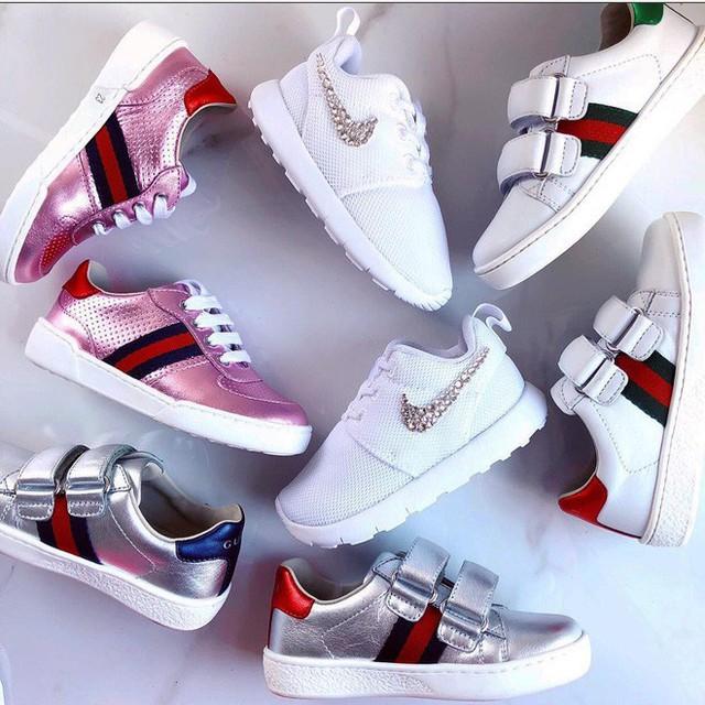 Giày từ Gucci và Nike...