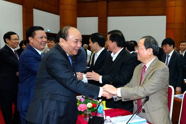 Thủ tướng Nguyễn Xuân Phúc cùng các đại biểu dự Hội nghị. - Ảnh: VGP/Quang Hiếu