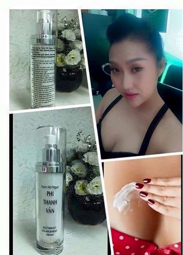 Sản phẩm kem nở ngực Phi Thanh Vân